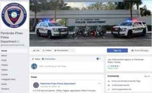 Penbrook Pines PD on Facebook...click image to open FB page and say hi