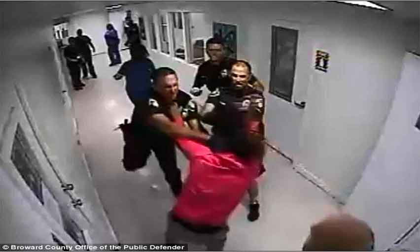 Pembroke Pines Police Officer Punches 14-Year-Old Girl In Face