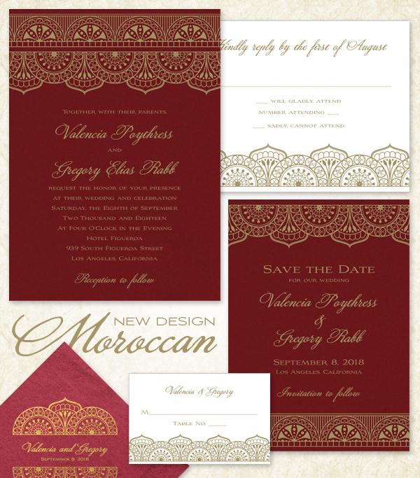 New Design Moroccan American Wedding Wisdom