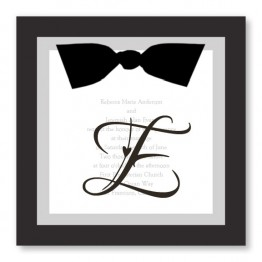 Elegant Fl Lace Pattern Kraft Formal Wedding Card