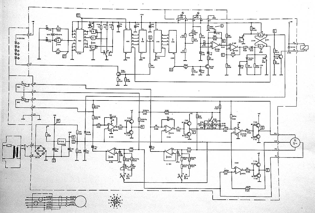 Phono Pre Amp & DAC Schematic Diagram and Turntable
