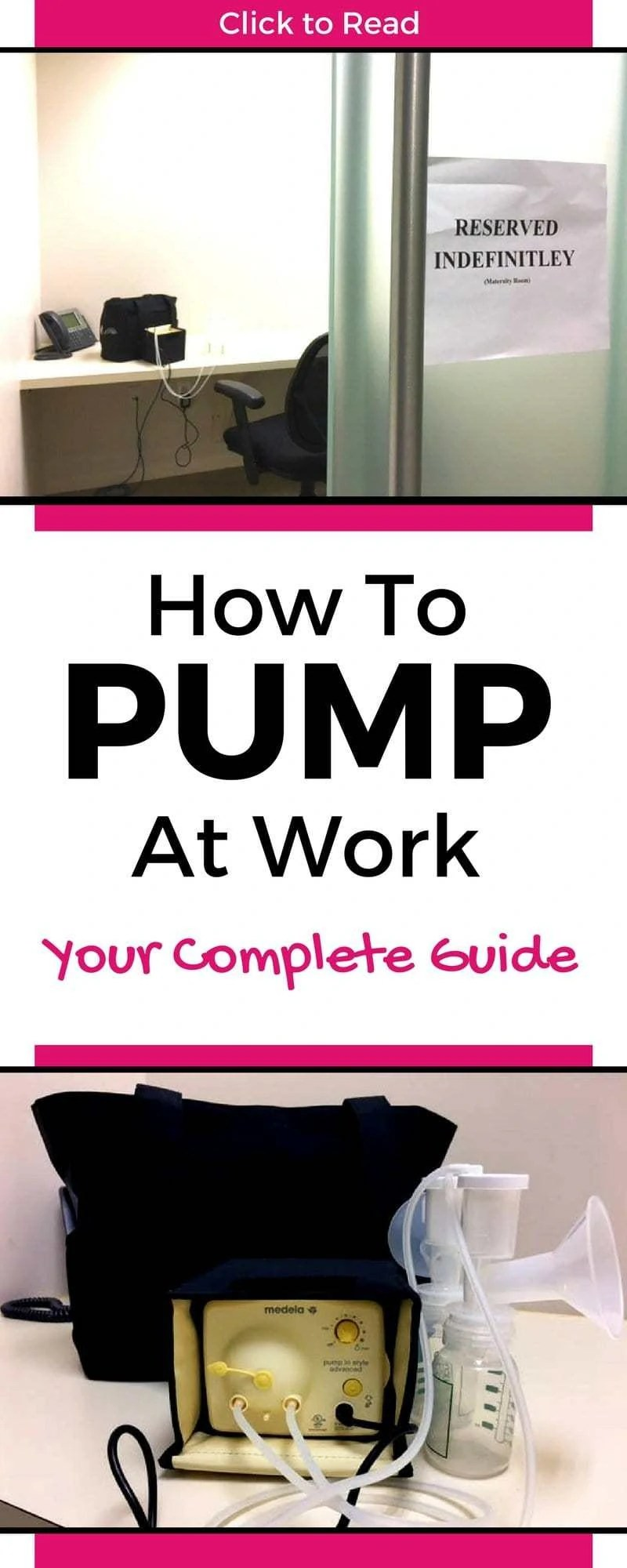 Scared about pumping at work? Don't be! This guide will tell you all you need to know so you can be successful! ! Covers Pumping schedule, Pumping milk, Pumping at work tips, Pumping at work schedule and Pumping at work essentials! Plus get some free downloadable resources & tools!