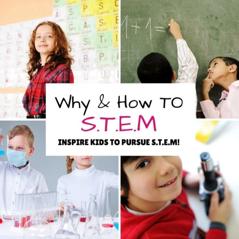 S.T.E.M. learning and activities for kids