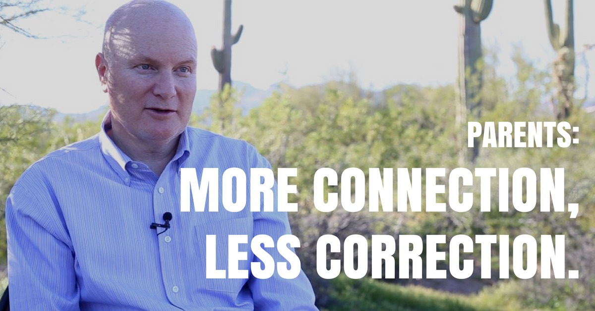 More Connection, Less Correction