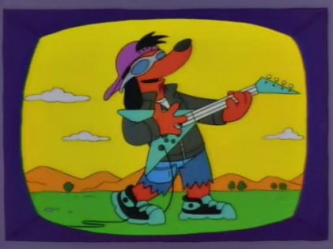 Image result for poochie the rockin dog