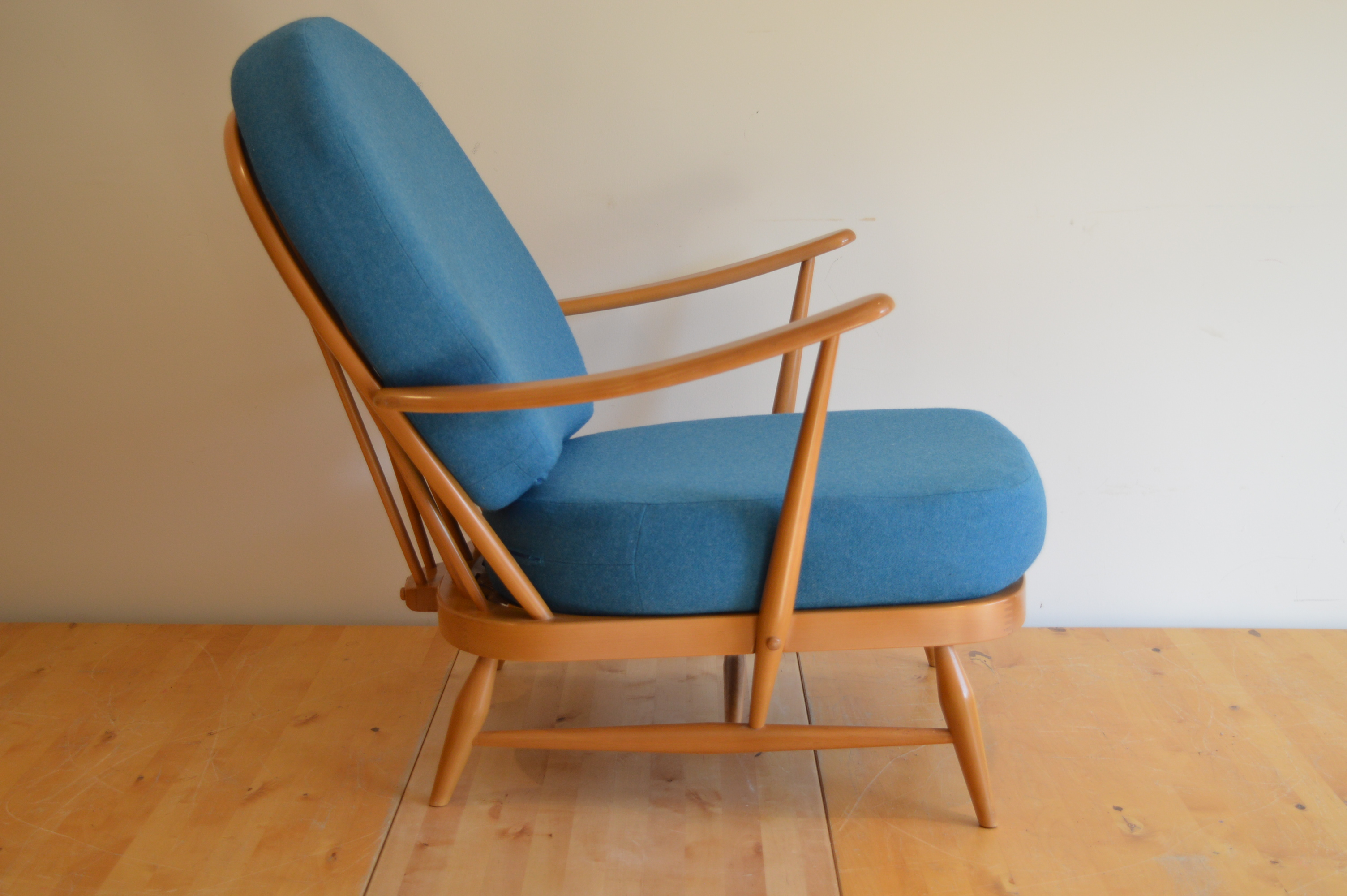 Ercol 203 Windsor Armchair with Pure Wool Covers  The Andrews Partnership