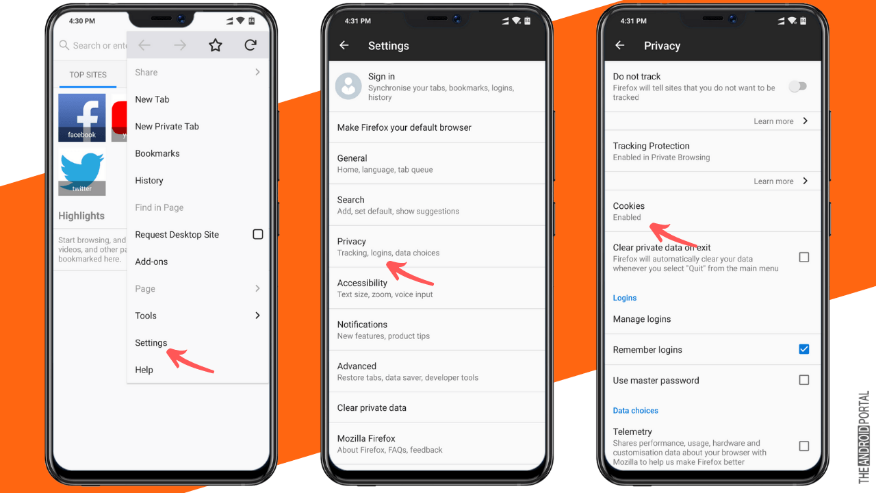 How To Enable Cookies on Android in 2020