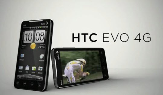 Sprint HTC EVO 4G