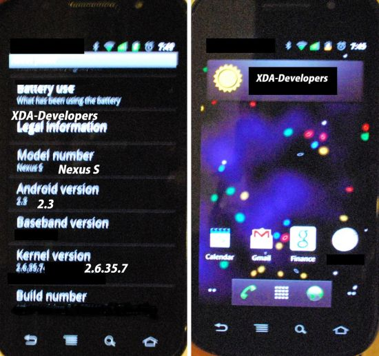 Nexus S Blurry Photos Snaps Pics