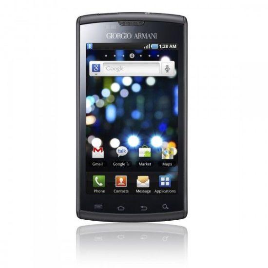 Samsung Galaxy S Giorgio Armani Android phone
