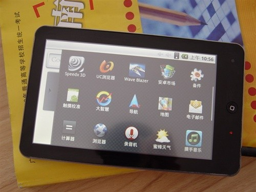 haipad ipad look alike android 2.1 tablet