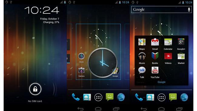Ice Cream Sandwich T-Mobile G2 and HTC Desire Z