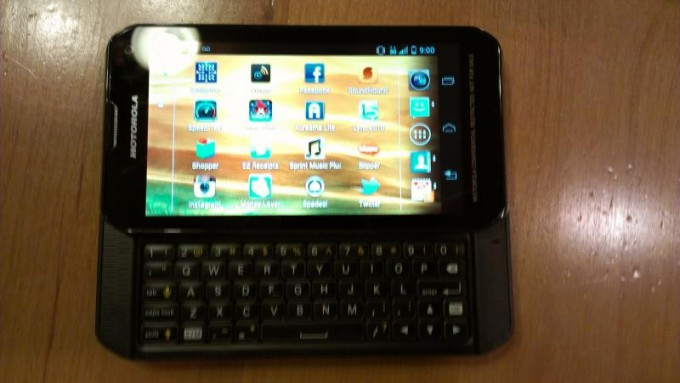 Motorola QWERTY Slider Phone for Sprint