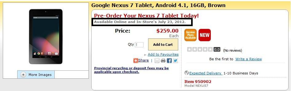 nexus-7-canada-date