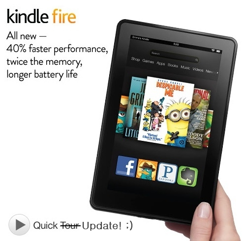 Kindle Fire 2nd Generation Updated By Amazon Too
