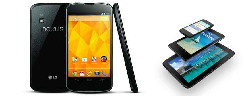 Nexus 4 and Nexus 10 UK