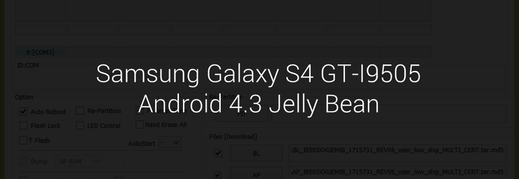 Android 4.3 Jelly Bean for Galaxy S4