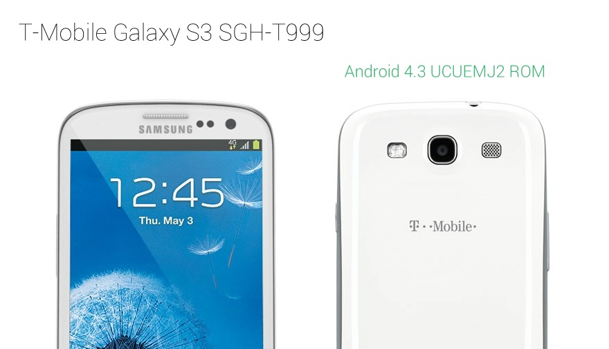 T-Mobile Galaxy S3 Android 4.3 Update
