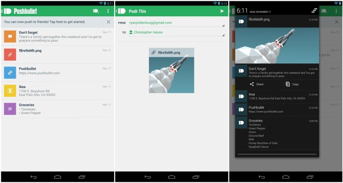 theandroidsoul.com Send Files To Friends using Pushbullet