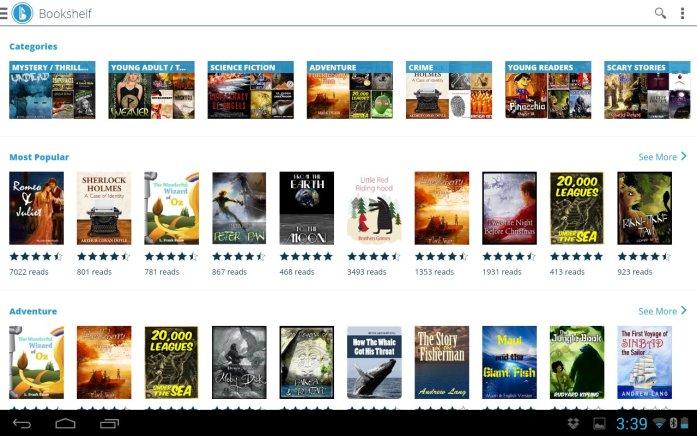 Booktracks Classroom screenshots 2