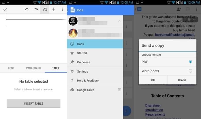 Google Docs Update Download