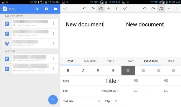 Google Docs Update New Features