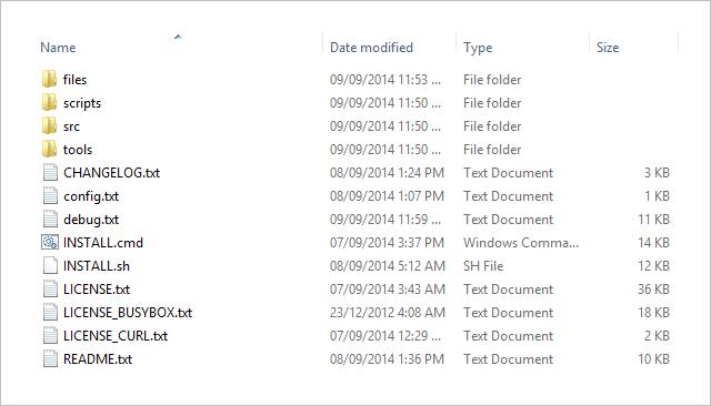 GhettoRoot files