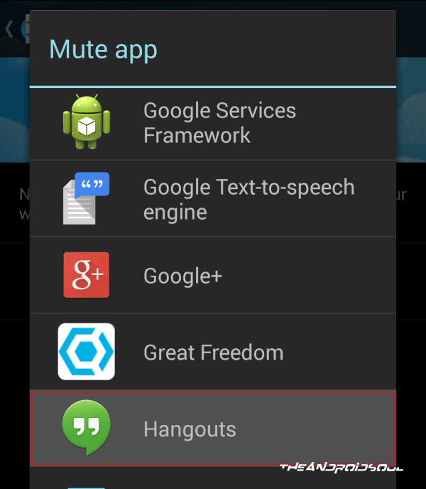 Select Apps to Mute App Notifications on Android Wear
