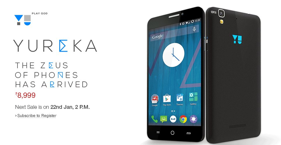 Second Yureka Amazon Sale