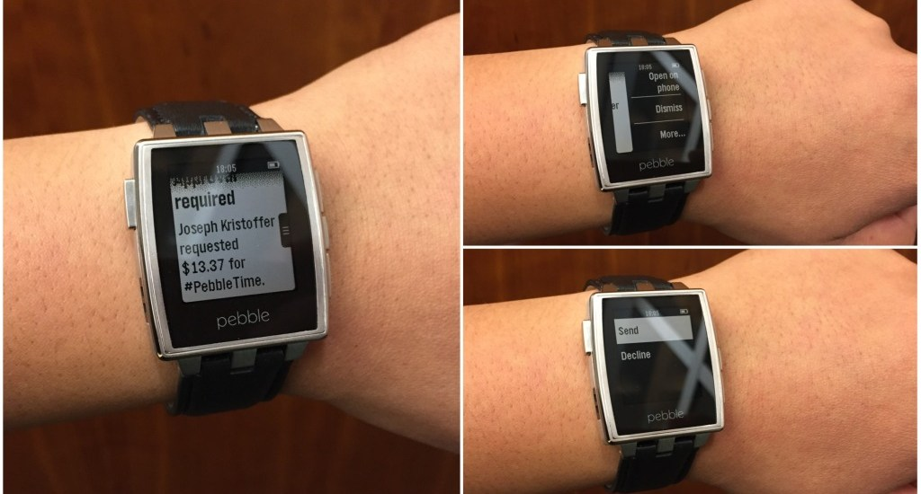 Pebble Android Wear Support