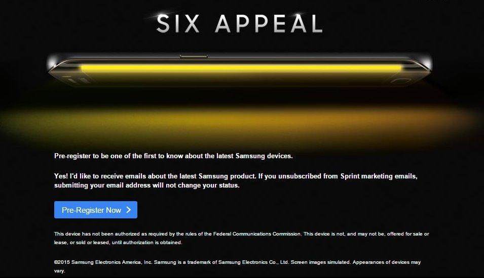 Sprint Galaxy S6 Teaser