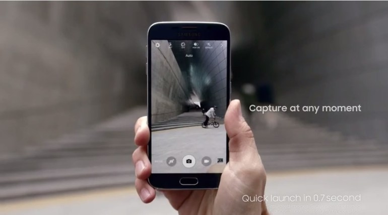 Galaxy S6 edge Features - Quick Launch