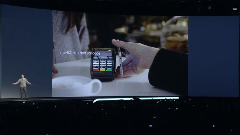 Galaxy S6 edge Features - Samsung Pay