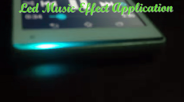 led music effect