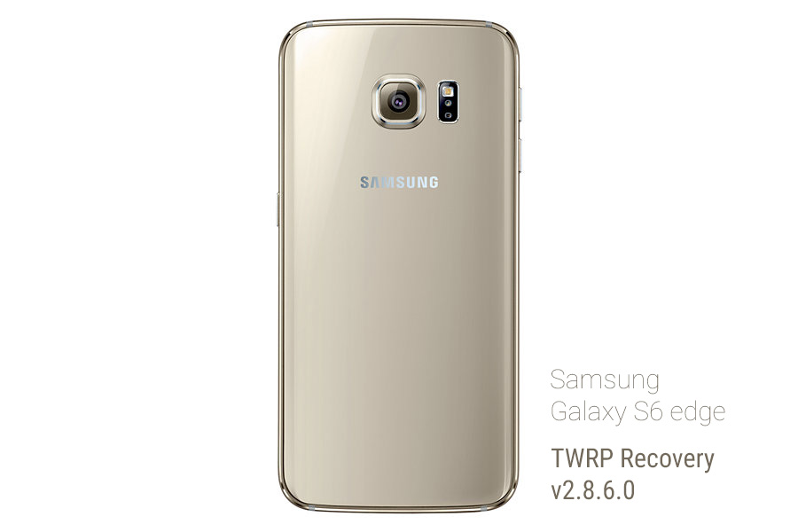 New Samsung Galaxy S6 Edge TWRP Recovery Fixes White/black