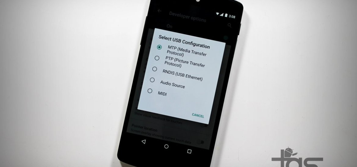 Android M USB Configuration