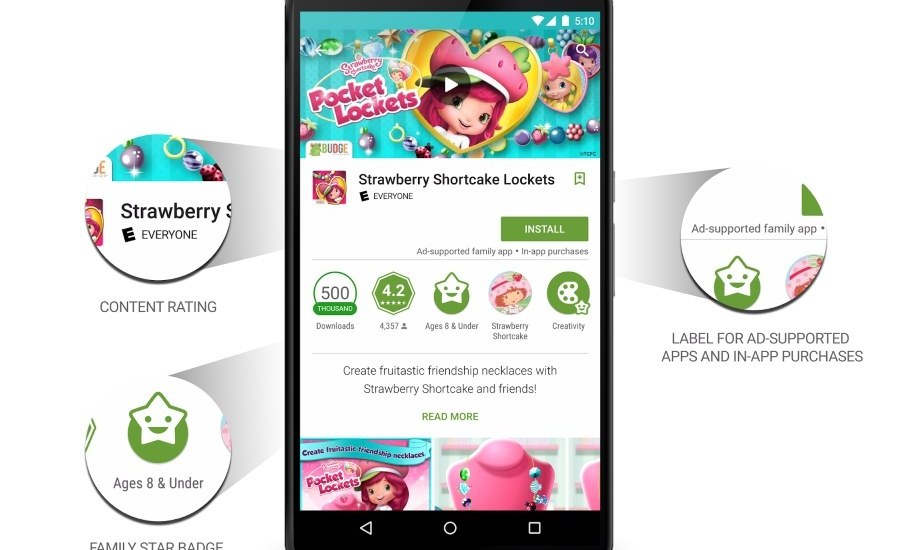 Google-Play-family-labels