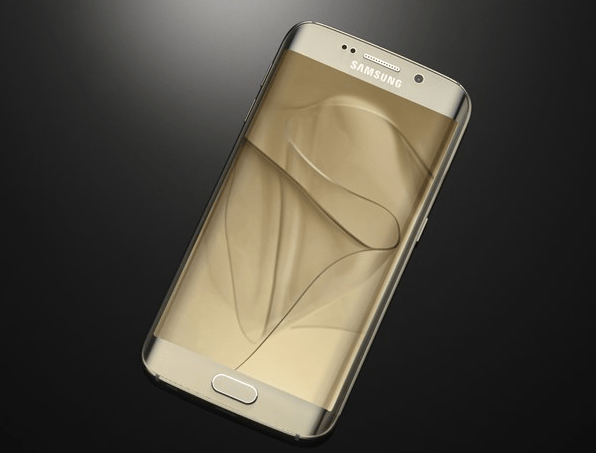 gold samsung galaxy s6 edge
