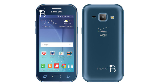samsung galaxy j1 verizon