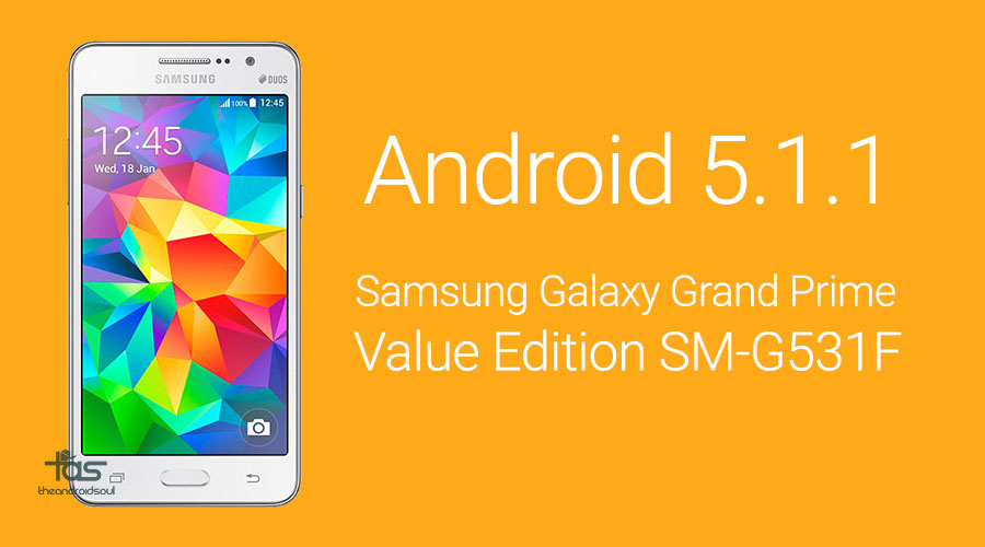Galaxy Grand Prime Value Edition 5.1