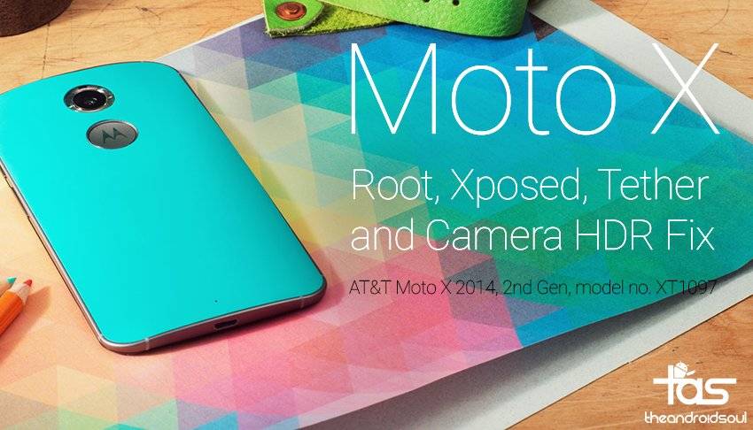 Moto X 2014 Root Xposed Tethering