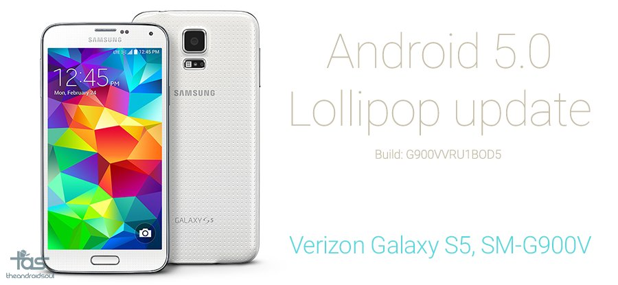 Verizon Galaxy S5 Lollipop Update with Root