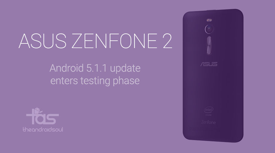 Asus Zenfone 2 Android 5.1 Update Release