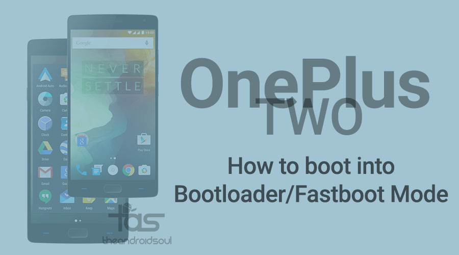 OnePlus Two Bootloader Fastoot mode