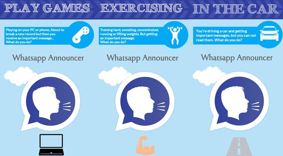 listen watsapp messages