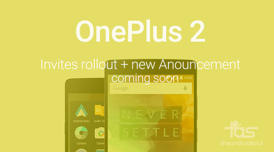 OnePlus 2 Invites Rollout