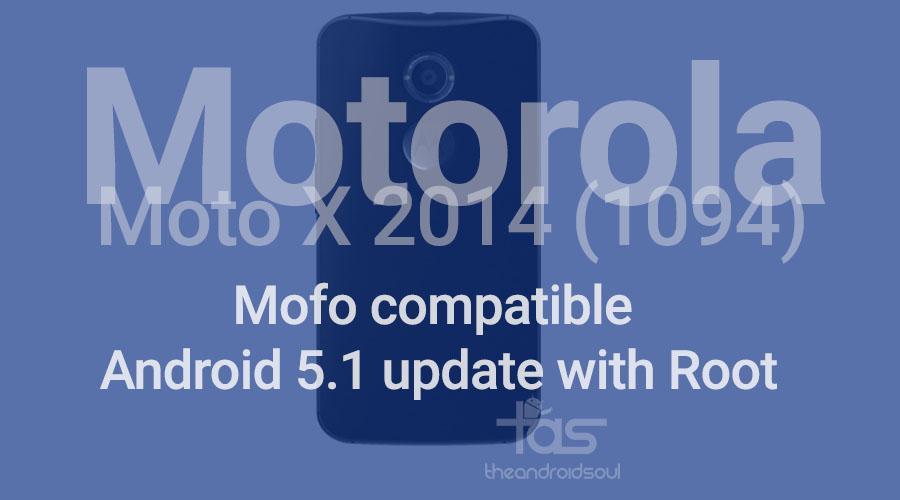 moto x 2014 5.1 mofo root