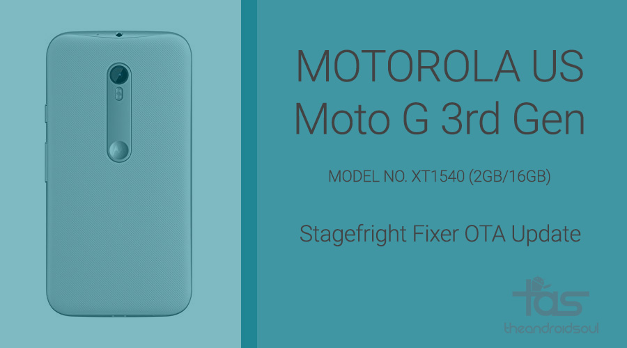 Moto G 3rd Gen US update