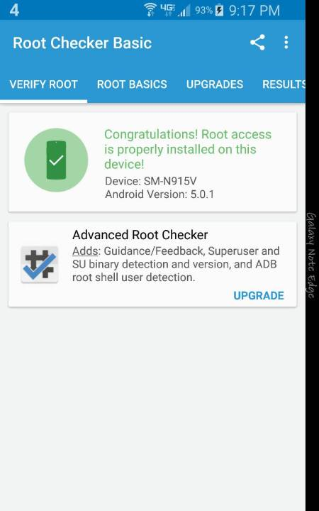 verizon note edge root