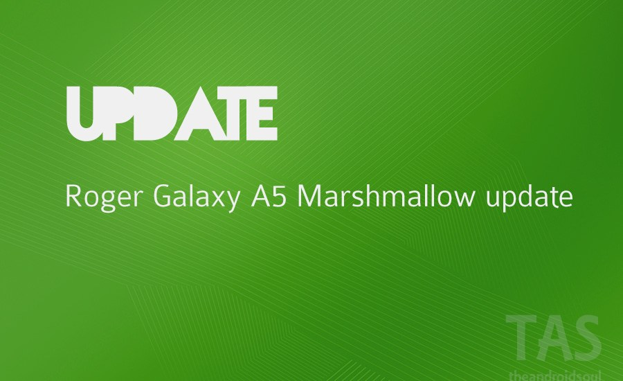 rogers a5 6.0 update